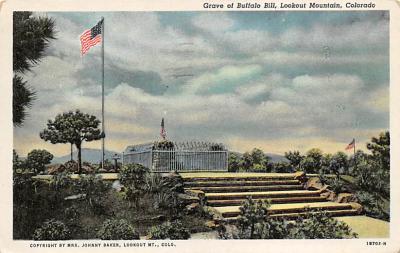 sub001397 - Grve of Buffalo Bill, Lookout Mountain, CO, USA