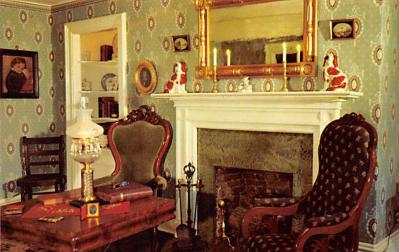 sub001461 - The parlor in the Becky Thatcher House, Hannibal, MO, USA