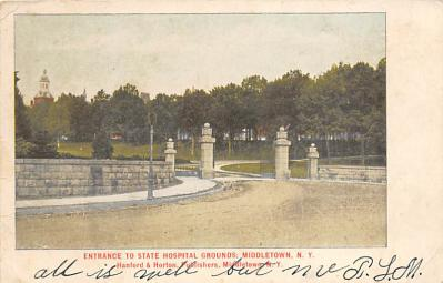 sub055485 - D.P.O. , Discontinued Post Office Post Card
