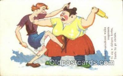 suf002094 - Suffragette Postcard, Womans Rights Post Card Old Vintage Antique
