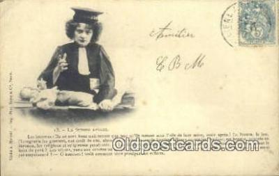 suf002137 - La Femme Avocate Suffragette Postcard, Womans Rights Post Card Old Vintage Antique