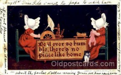 sun001054 - The Ullman MFG. Co., N.Y., USA Sun Bonnet, Bonnets Postcard Post Card Old Vintage Antique