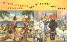 saw001001 - Tropical Florida Series 230F Summer Winter Postcard Postcards