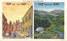 saw001009 - Series N-535 Summer Winter Postcard Postcards
