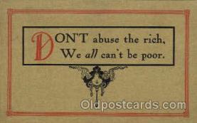 say001055 - Sayings, Quotes, Postcard Postcards