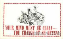 say001094 - Artist Tony Luna Sayings, Quotes, Postcard Postcards