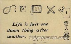 say001098 - Sayings, Quotes, Postcard Postcards