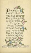 say001158 - Author Mary Estabrook Hale Sayings, Quotes, Postcard Postcards