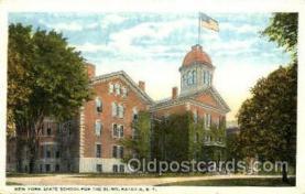 sch001015 - New York State school for Blind, Batavia, NY, New York, USA School for Blind & Deaf Postcard Postcards