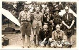 sct000036 - Scout Scouts Postcard Postcards