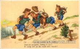 sct000039 - Boy & Girl Scouts, Scout, Scouting, Postcard Postcards