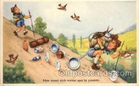 sct000043 - Boy & Girl Scouts, Scout, Scouting, Postcard Postcards
