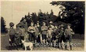 sct000046 - Bolderwood, 1924, Boy & Girl Scouts, Scout, Scouting, Postcard Postcards