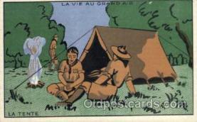 sct000050 - La Tente, Boy & Girl Scouts, Scout, Scouting, Postcard Postcards