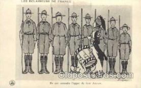 sct000051 - Les Eclaireurs De France, Boy Scouts, Scout, Scouting, Postcard Postcards