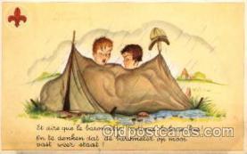 sct000058 - Boy & Girl Scouts, Scout, Scouting, Postcard Postcards