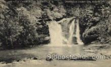 sct000078 - The Falls, Camp Wabak, Marietta, South Carolina, USA S.C. Greenville County Girl Scouts, Scout, Scouting, Postcard Postcards