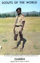 sct001043 - Scouts Of The World, Zambia Scout Scouting Postcard Postcards