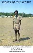 sct001047 - Scouts Of The World, Ethiopia Scout Scouting Postcard Postcards