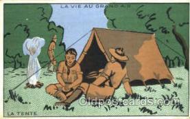 sct001073 - La Tente Scout Scouting Postcard Postcards