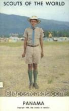 sct100016 - Panama Boy Scouts of America, Scouting Postcard, Post Cards, Copyright 1968