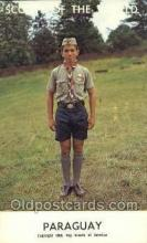 sct100017 - Paraguay Boy Scouts of America, Scouting Postcard, Post Cards, Copyright 1968