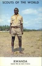 sct100021 - Rwanda Boy Scouts of America, Scouting Postcard, Post Cards, Copyright 1968