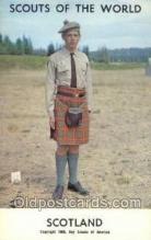 sct100025 - Scotland Boy Scouts of America, Scouting Postcard, Post Cards, Copyright 1968