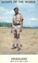 sct100027 - Swaziland Boy Scouts of America, Scouting Postcard, Post Cards, Copyright 1968