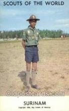 sct100028 - Suriname Boy Scouts of America, Scouting Postcard, Post Cards, Copyright 1968
