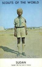 sct100029 - Sudan Boy Scouts of America, Scouting Postcard, Post Cards, Copyright 1968
