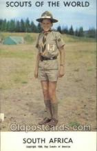 sct100035 - South Africa Boy Scouts of America, Scouting Postcard, Post Cards, Copyright 1968