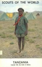 sct100036 - Tanzania Boy Scouts of America, Scouting Postcard, Post Cards, Copyright 1968