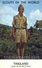 sct100037 - Thailand Boy Scouts of America, Scouting Postcard, Post Cards, Copyright 1968