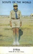 sct100039 - Syria Boy Scouts of America, Scouting Postcard, Post Cards, Copyright 1968