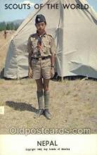 sct100042 - Nepal Boy Scouts of America, Scouting Postcard, Post Cards, Copyright 1968