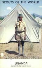 sct100049 - Uganda Boy Scouts of America, Scouting Postcard, Post Cards, Copyright 1968