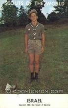 sct100051 - Isreal Boy Scouts of America, Scouting Postcard, Post Cards, Copyright 1968
