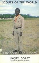 sct100053 - Ivory Coast Boy Scouts of America, Scouting Postcard, Post Cards, Copyright 1968