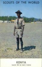 sct100054 - Kenya Boy Scouts of America, Scouting Postcard, Post Cards, Copyright 1968