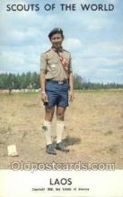 sct100057 - Laos Boy Scouts of America, Scouting Postcard, Post Cards, Copyright 1968
