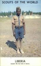 sct100058 - Liberia Boy Scouts of America, Scouting Postcard, Post Cards, Copyright 1968