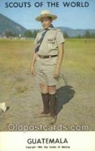 sct100068 - Guatemala Boy Scouts of America, Scouting Postcard, Post Cards, Copyright 1968