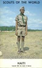 sct100076 - Haiti Boy Scouts of America, Scouting Postcard, Post Cards, Copyright 1968