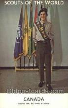 sct100092 - Canada Boy Scouts of America, Scouting Postcard, Post Cards, Copyright 1968