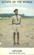 sct100098 - Ceylon Boy Scouts of America, Scouting Postcard, Post Cards, Copyright 1968