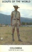 sct100099 - Colombia Boy Scouts of America, Scouting Postcard, Post Cards, Copyright 1968