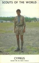 sct100101 - Cyprus Boy Scouts of America, Scouting Postcard, Post Cards, Copyright 1968