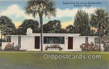 sct100116 - Rotary Club Boy Scouts Headquarters Sarasota, Florida, USA Postcards Post Cards Old Vintage Antique