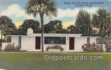 sct100117 - Rotary Club Boy Scouts Headquarters Sarasota, Florida, USA Postcards Post Cards Old Vintage Antique